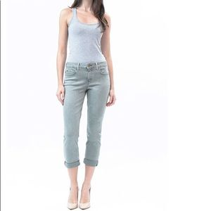 Anthropologie Level 99 Lily Crop Jeans